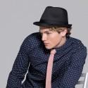 Chapeau Trilby mode noir
