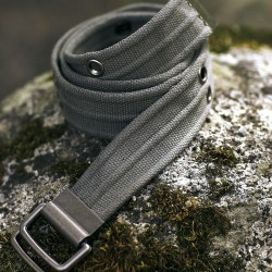 Ceinture sangle en coton - 2 coloris