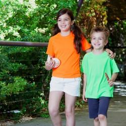 T-shirt sport respirant - Enfant - Manches courtes - 7 coloris