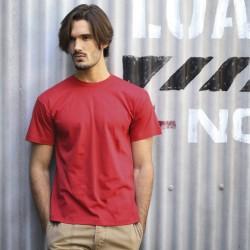 T-shirt uni 100% coton - Manches courtes - Homme - 25 coloris