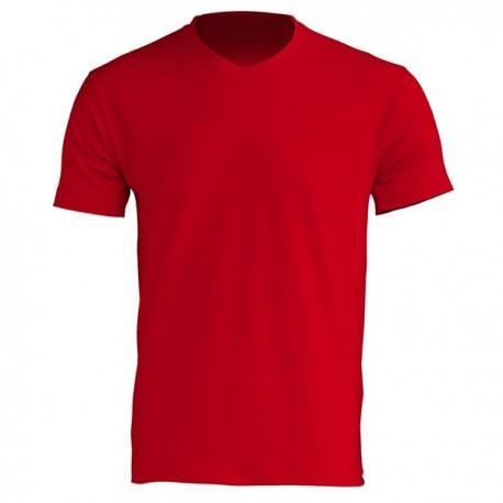 T-shirt homme - Col V - Manches courtes - 7 coloris