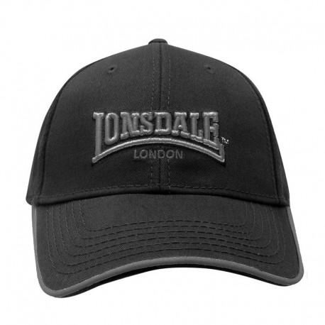 Casquette Lonsdale noire