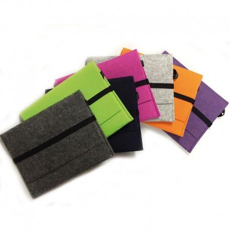 Pochette feutre pour tablette 10 pouces ou ipad -  7 coloris