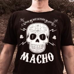 """T-shirt mode """"MACHO"""" 100% coton - Manches courtes - Homme"""
