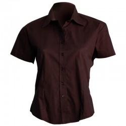 Chemise femme - Manches courtes - 4 coloris