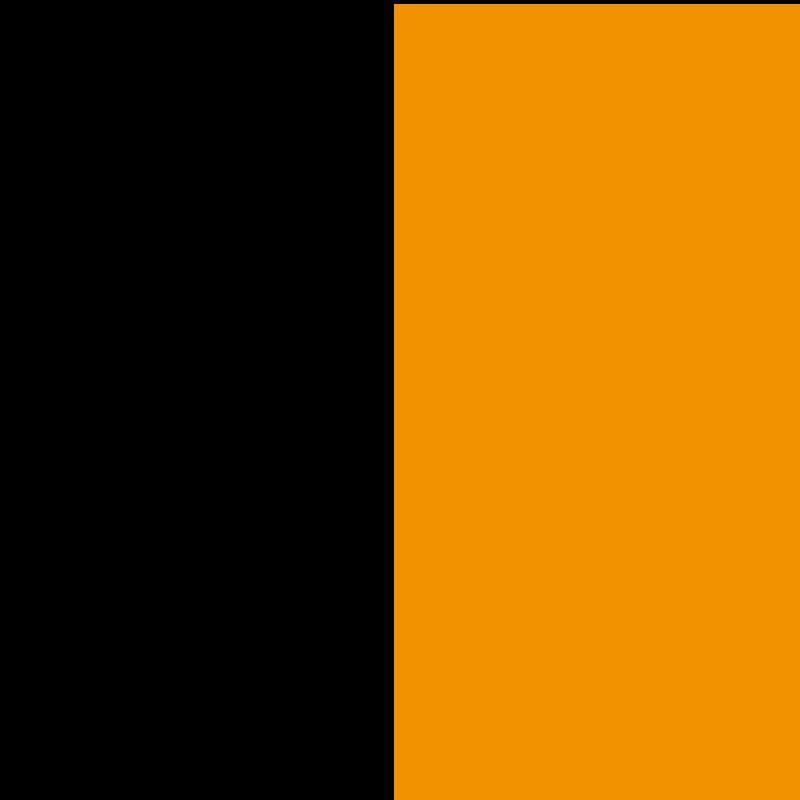 Noir-orange