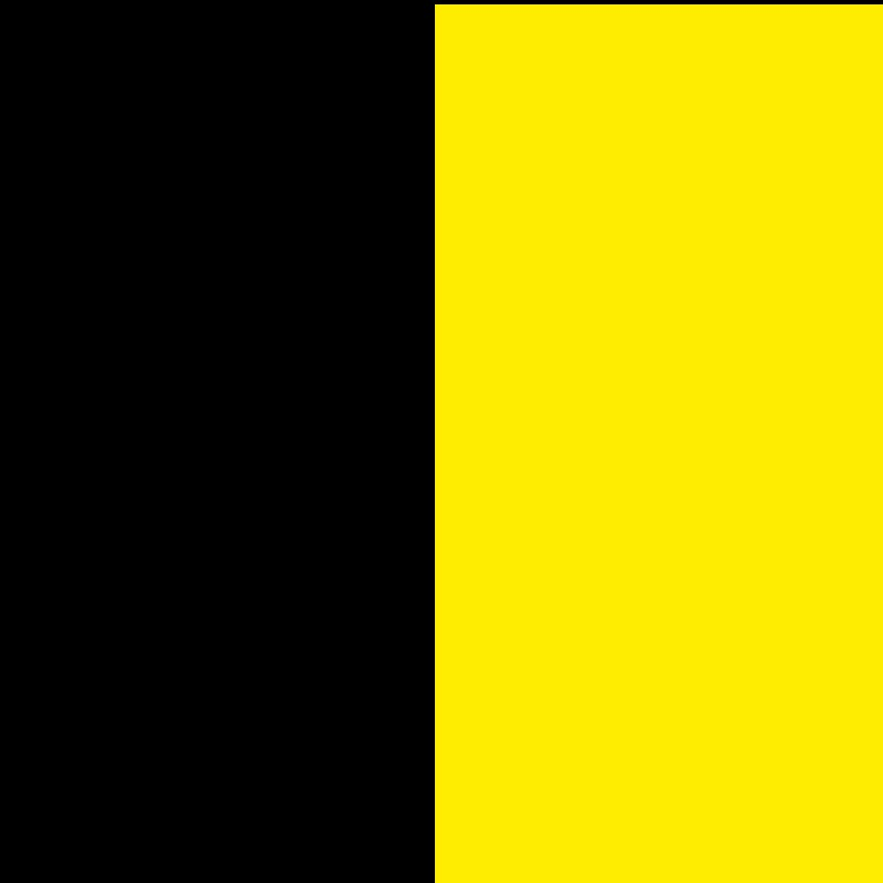 Noir-jaune